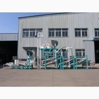 Линия для очистки переработки, шелушения и сепарации семян подсолнечника ТFKH-1500