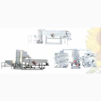 Оборудование для очистки, шелушения и сепарации кедрового ореха