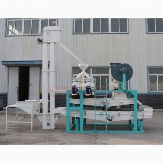 Шелушитель овса, оборудование переработки, очистки, шелушения и сепарации овса