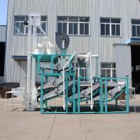 Шелушение ядра семян подсолнечника на оборудовании TFKH-1500