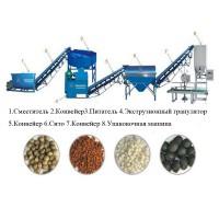 Оборудование переработки и гранулирования навоза помета, пищевых отходов для удобрения